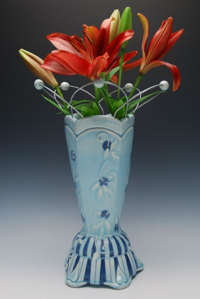 Kristen Kieffer Lattice vase