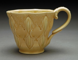 Stamped cup, honeycomb