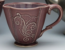 Kristen Kieffer Deluxe clover cup in Grape