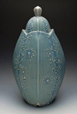 Kristen Kieffer-Grande Jar, Zanesville Prize First Place I