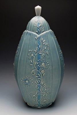 Kristen Kieffer Grande Jar, Zanesville Prize First Place II