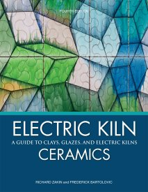 Electric Kiln Ceramics - A Guide to Clays, Glazes, and Electric Kilns, Fourth Edition by Richard Zakin and Frederick Bartolovic. Kristen Kieffer images pp. 70, 72 and 76