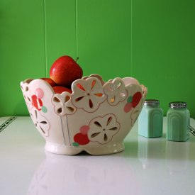 Kristen Kieffer Pierced fruit basket