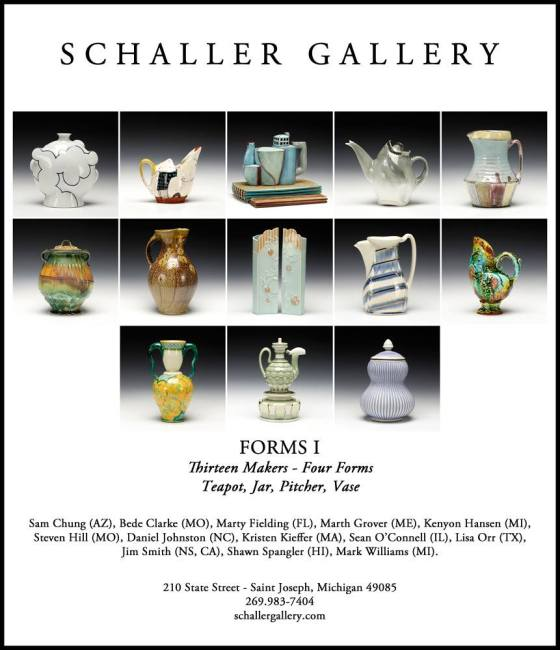 Forms I Exhibition, Schaller Gallery