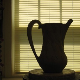 Kristen Kieffer pitcher in shadow
