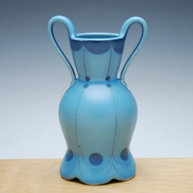 Kristen Kieffer Bud vase Aqua